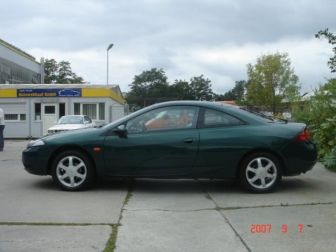 Ford Cougar 2.0 16V тёмно-зелёный металлик Москва 1999