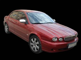 Jaguar X-type Jaguar x400 (X-type) red Нижний Новгород 2006
