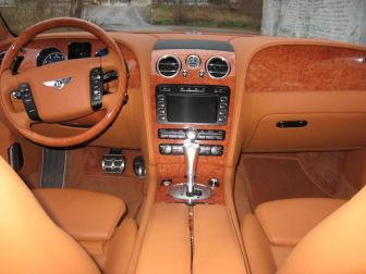 Bentley Continental Flying Spur Exclusive белый Курск 2008