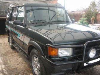 Land Rover Discovery l 3.9i зеленый Саратов 1996