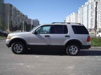 Ford Explorer 4.0 V6 4WD(212л.с.) серебристый Санкт-Петербург 2003